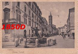 VELLETRI - PIAZZA CAIROLI  F/GRANDE VIAGGIATA 193? ANIMAZIONE - Velletri