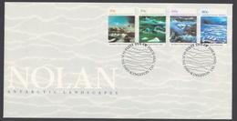 AUSTRALIE AAT 1989 FDC NOLAN Landscapes - FDC
