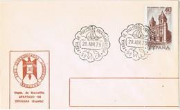 36608. Carta SEVILLA 1975. Ship, Barco. Feria Muestras Iberoamericana - 1931-Hoy: 2ª República - ... Juan Carlos I