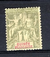 Guinée 1892 N°13 Neuf Avec Charnière - Unused Stamps