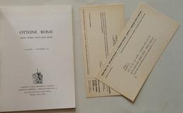 Ottone Rosai Venti Opere Vent'Anni Dopo Agosto Settembre 1977 Galleria Falsetti - Vieux Papiers