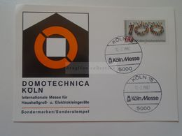 ZA281.3  DOMOTECHNICA  KÖLN  1982 - Universal Expositions