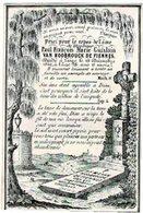 LIEGE - Paul François Marie Guislain VAN HOOBROUCK De FIENNES - Décédé 1849 - Images Religieuses