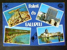 PUGLIA -LECCE -GALLIPOLI  -F.G. LOTTTO N°732 - Lecce