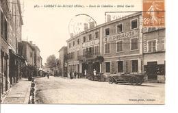 RHONE  CHESSY ROUTE DE CHATILLON  HOTEL GARBIT ANIMEE ECRITE - Autres Communes