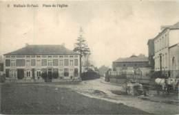 Belgique - Walhain-St.-Paul - Place De L' Eglise - Attelage - Walhain