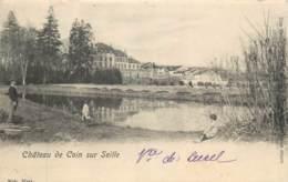 France - 57 - COIN SUR SEILLE  -  Château De Coin Sur Seille - CARTE RARE - Edit NELS Metz - France