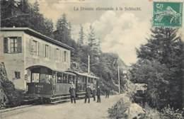 France - 68 - La Douane Allemande à La Schlucht - Le Tram - France