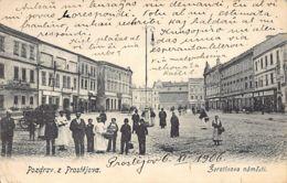 Czech Rep. - PROSTEJOV - Zerotinova Namesti - Czech Republic