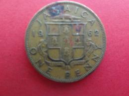 Jamaique  1 Penny  1962  Km 37 - Jamaica