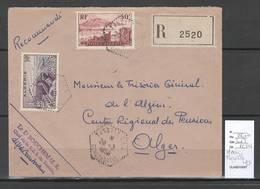 Algerie - Lettre - Cachet Hexagonal TASSALA SAS -  Marcophilie - Algerien (1924-1962)