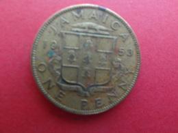 Jamaique  1 Penny  1953  Km 37 - Jamaica