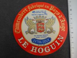 Etiquette De  Camembert Le Hoguin Bisson à Livarot - Cheese