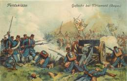 Belgique - Feldskizze - Gefecht Bei Tirlemont - Tienen