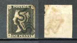 GB   Y&T   1     Obl    ---    Superbes Marges  --  Impeccable - 1840-1901 (Victoria)