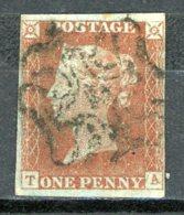 GB   Y&T   3     Obl    ---    A Voir...  --  TB - 1840-1901 (Victoria)
