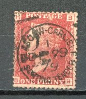 GB   Y&T   26     Obl    ---    Pl. 213   ---   Bon état - 1840-1901 (Victoria)