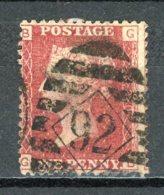 GB   Y&T   26     Obl    ---    Pl. 220   ---   Bon état - 1840-1901 (Victoria)