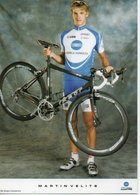 CYCLISME   Tour De France MARTIN VELITS - Ciclismo