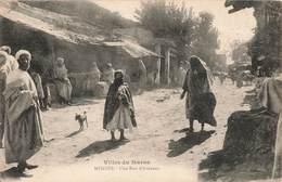 Maroc Meknes Une Rue D' Artisans Cpa Artisan - Meknes