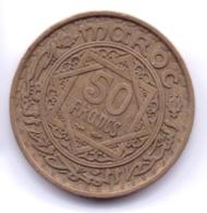 MAROC 1952:  50 Francs, Y# 51 - Maroc