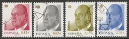 2009-ED. 4457 A 4460-JUAN CARLOS I. SERIE BÁSICA-USADO - 1931-Hoy: 2ª República - ... Juan Carlos I