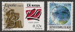 2009-ED. 4461 Y 4479 - 2 COMPLETAS-DIARIO DE LA RIOJA Y OBJETIVO DE DESARROLLO DEL MILENIO-USADO - 1931-Hoy: 2ª República - ... Juan Carlos I