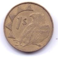 NAMIBIA 1996: 1 Dollar, KM 4 - Namibia
