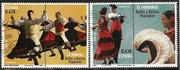 2009-ED. 4501 Y 4502 - BAILES Y DANZAS POPULARES. MUÑEIRA Y FANDANGO-USADO - 1931-Hoy: 2ª República - ... Juan Carlos I
