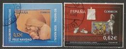 2009-ED. 4520 Y 4521-NAVIDAD-SERIE COMPLETA SIN H.B.-USADO - 1931-Hoy: 2ª República - ... Juan Carlos I
