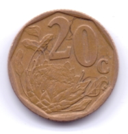 SOUTH AFRICA 2006: 20 Cents, KM 488 - Afrique Du Sud