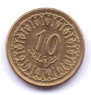 TUNISIE 1997: 10 Millièmes, KM 306 - Tunisia