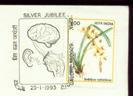 HEALTH- SPEECH AND HEARING ASSOCIATION-PICTORIALPOSTMARK- SPECIAL COVER-INDIA-1993-SCARCE-IC-214-30 - Behinderungen