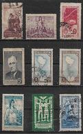 1946-7 Argentina Mapa-17 De Octubre-Roosevelt-industria-mando Presidencial-paz Mundial-correo-barco 9v. - Argentina