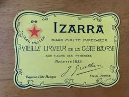 1 BUVARD IZARRA - Licores & Cervezas