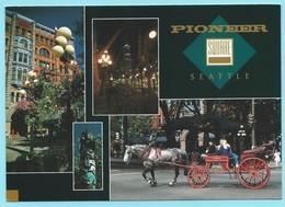 1895 - AMERIKA - USA - WASHINGTON - SEATTLE - PIONEER SQUARE - Seattle
