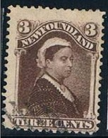New Foundland, 1887, # 42, Used - 1865-1902