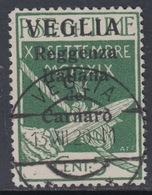 ITALIA - VEGLIA - N. 1 - Cat. 300 Euro - USATO - LUXUS GESTEMPELT - 8. WW I Occupation