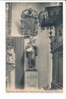 Carte De SAINT JEAN D' AULPH  Statue De Saint Antoine Portrait De Saint Guérin ( Recto Verso ) - Saint-Jean-d'Aulps