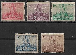 1946 Argentina 17 De Octubre 5v.mint. - Argentina