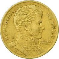 Monnaie, Chile, 10 Pesos, 1994, Santiago, TTB, Aluminum-Bronze, KM:228.2 - Chile
