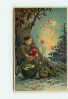 N°15132 - Joyeux Noël - Enfants Regardant Des Anges - Otros