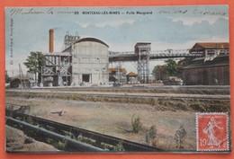 CPA 71 Montceau Les Mines, Puits  Maugrand En 1908 - Montceau Les Mines