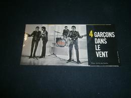 Petit Carton Pub The Beatles 4 Garçons Dans Le Vent - Ohne Zuordnung
