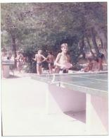 Real Photo,Children,enfants,Table Tennis, Ping-pong.1986 Baska Voda,Croatia - Personnes Anonymes