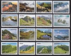 """TAIWAN 2001 - 2004, """"Mountains"""", 4 Series Unmounted Mint - 1945-... République De Chine"""
