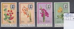 Swaziland Michel Cat.No. Mnh/**  183/186 - Swaziland (1968-...)