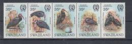 Swaziland Michel Cat.No. Mnh/**  449/453 Birds - Swaziland (1968-...)
