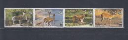 Swaziland Michel Cat.No. Mnh/**  702/705 WWF - Swaziland (1968-...)