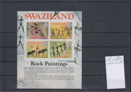 Swaziland Michel Cat.No. Mnh/** Sheet 1 Cave Paintings - Swaziland (1968-...)